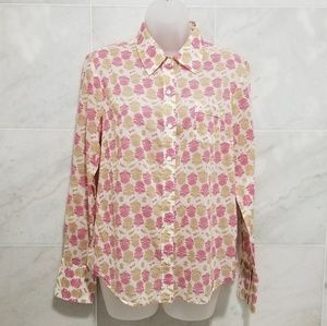 2/$15 J.Crew Western Print Button Down Shi…